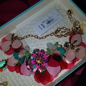BNWT Kate Spade Vibrant Life Statement Necklace